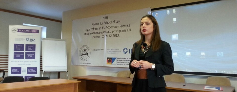 Harmonius School of Law Zlatibor 2013