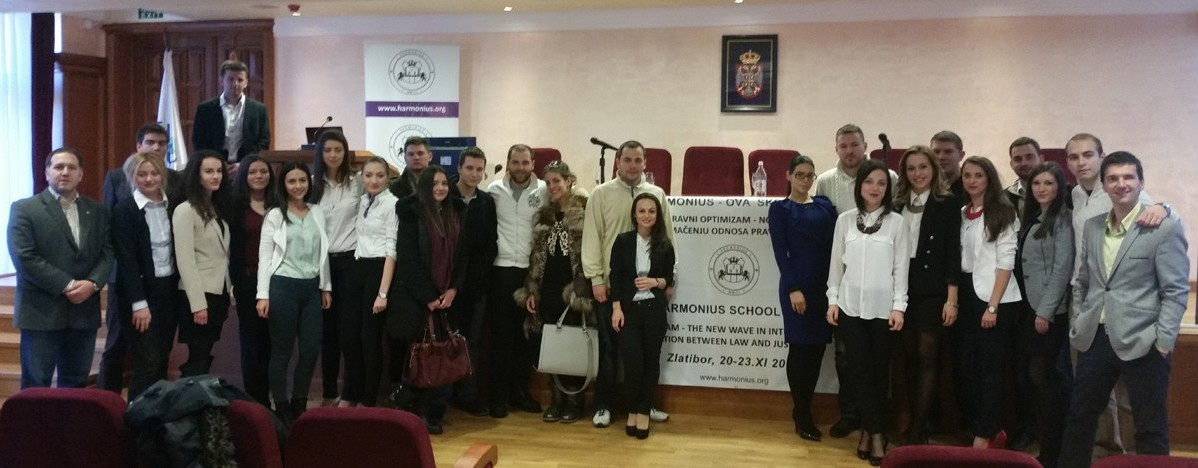 Harmonius School of Law Zlatibor 2014
